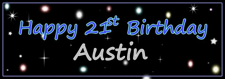 Happy Birthday! You're a Star (For Boy)Customize Banner