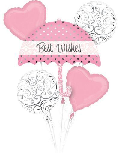 Best Wishes Wedding Balloon Package