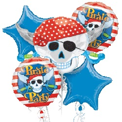 Pirate Party Balloon Bouquet