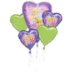 TinkerBell Have a Magical Day! Balloon Bouquet