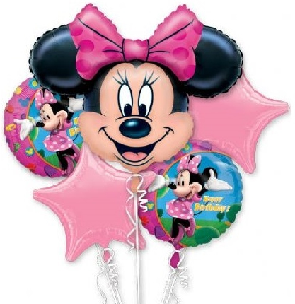 Minnie Mouse Clubhouse Birthday Party Balloon Package