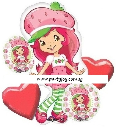 Strawberry Shortcake Balloon Package