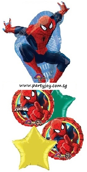 Spiderman Ultimate Party Balloon Package