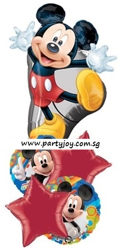 Mickey Mouse Clubhouse Birthday Party Balloon Package