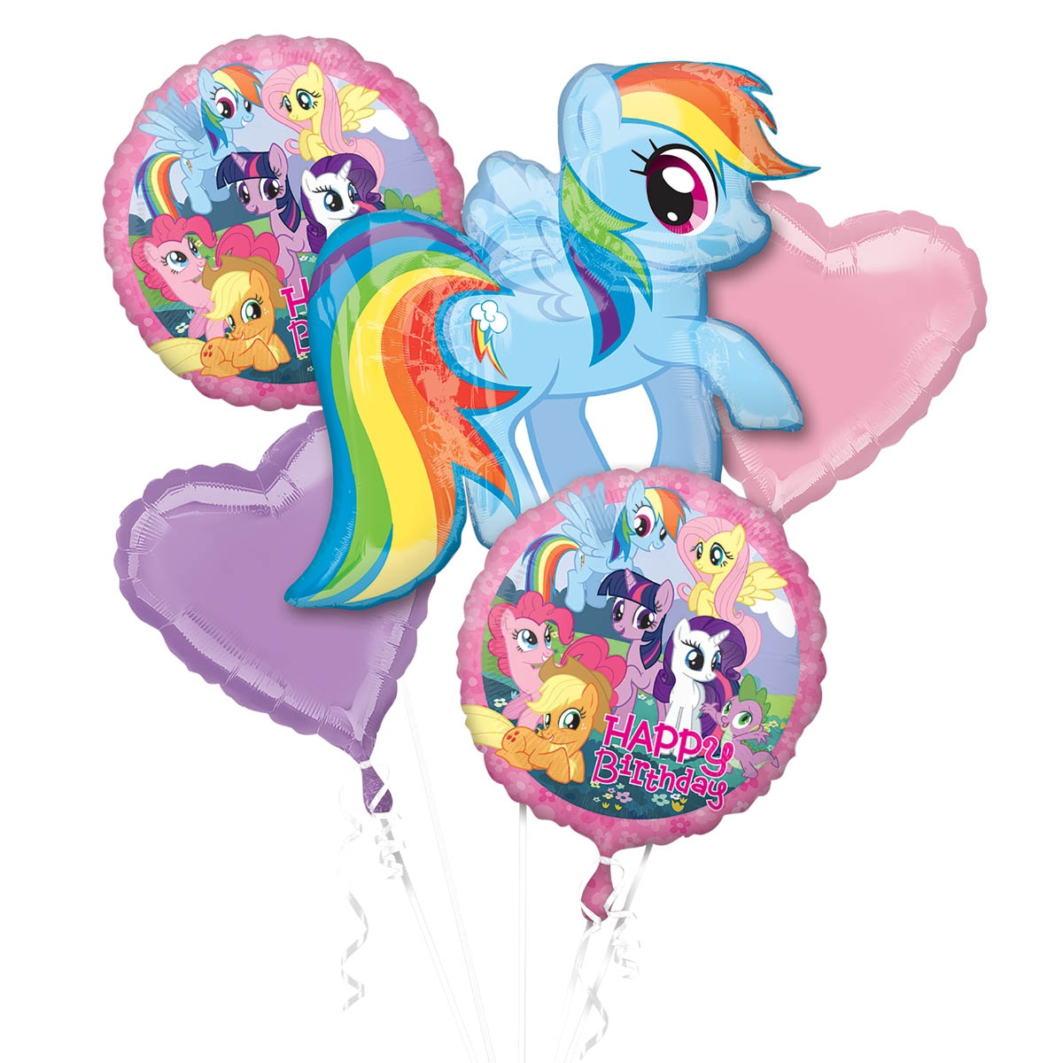 My Little Pony Birthday Balloon Package