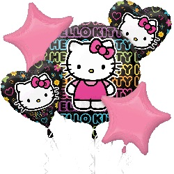 Hello Kitty Tween Birthday Balloon Bouquet