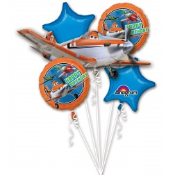 Disney's Plane Birthday Balloon Bouquet
