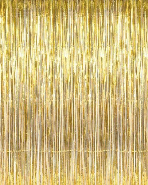 Gold Metallic Foil Tinsel