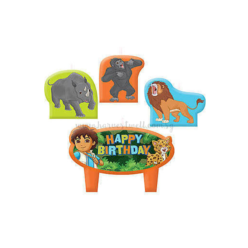 Go Diego Go! Birthday Candle Set