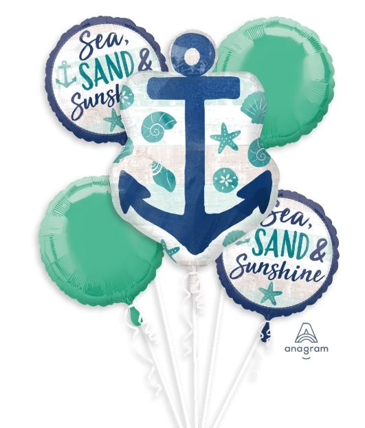Sea, Sand, Sunshine Balloon Package