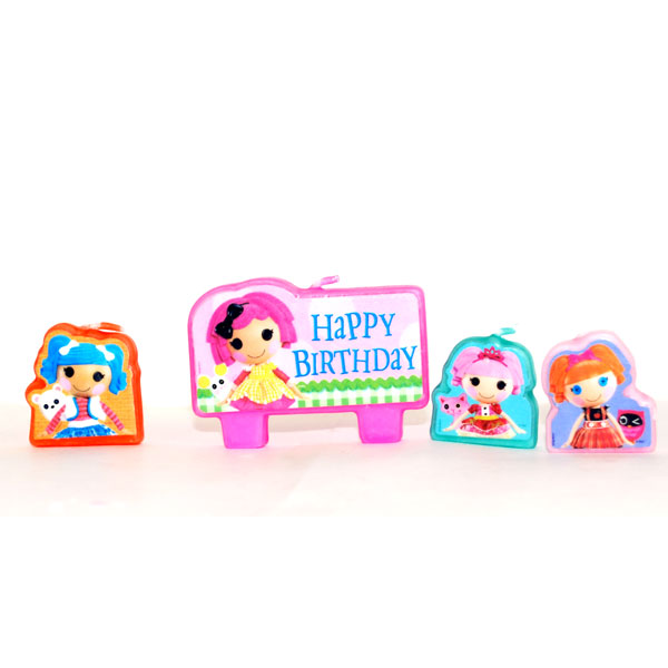 Lalaloopsy Birthday Candle Set