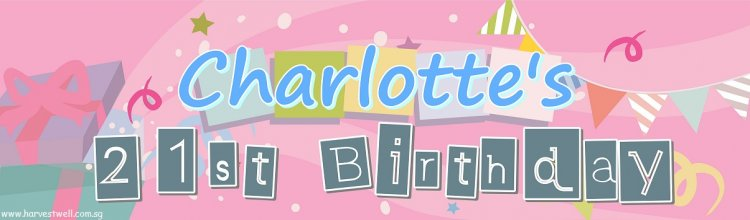 Birthday Party Customized Banner