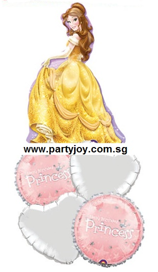 Disney Princess Sparkling Belle Balloon Package