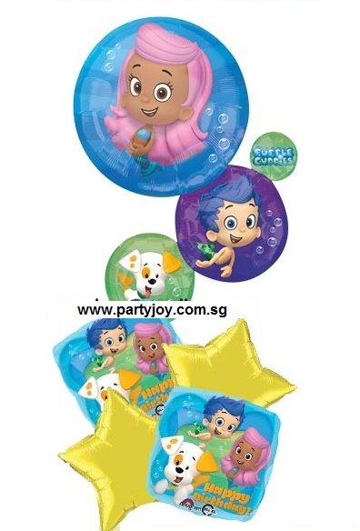 Bubble Guppies Balloon Package