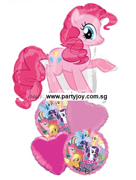 My Little Pony Pinkie Pie HBD Balloon Package