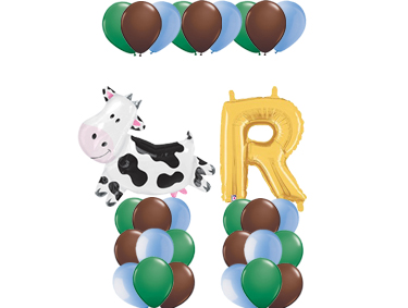 Barnyard Theme Balloon Value Package