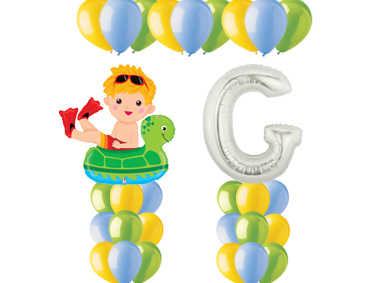 Boy Floatie Balloon Value Package