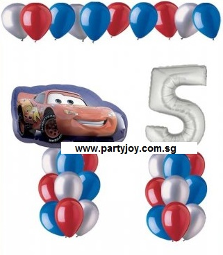 Disney's Car Age Balloon Value Package