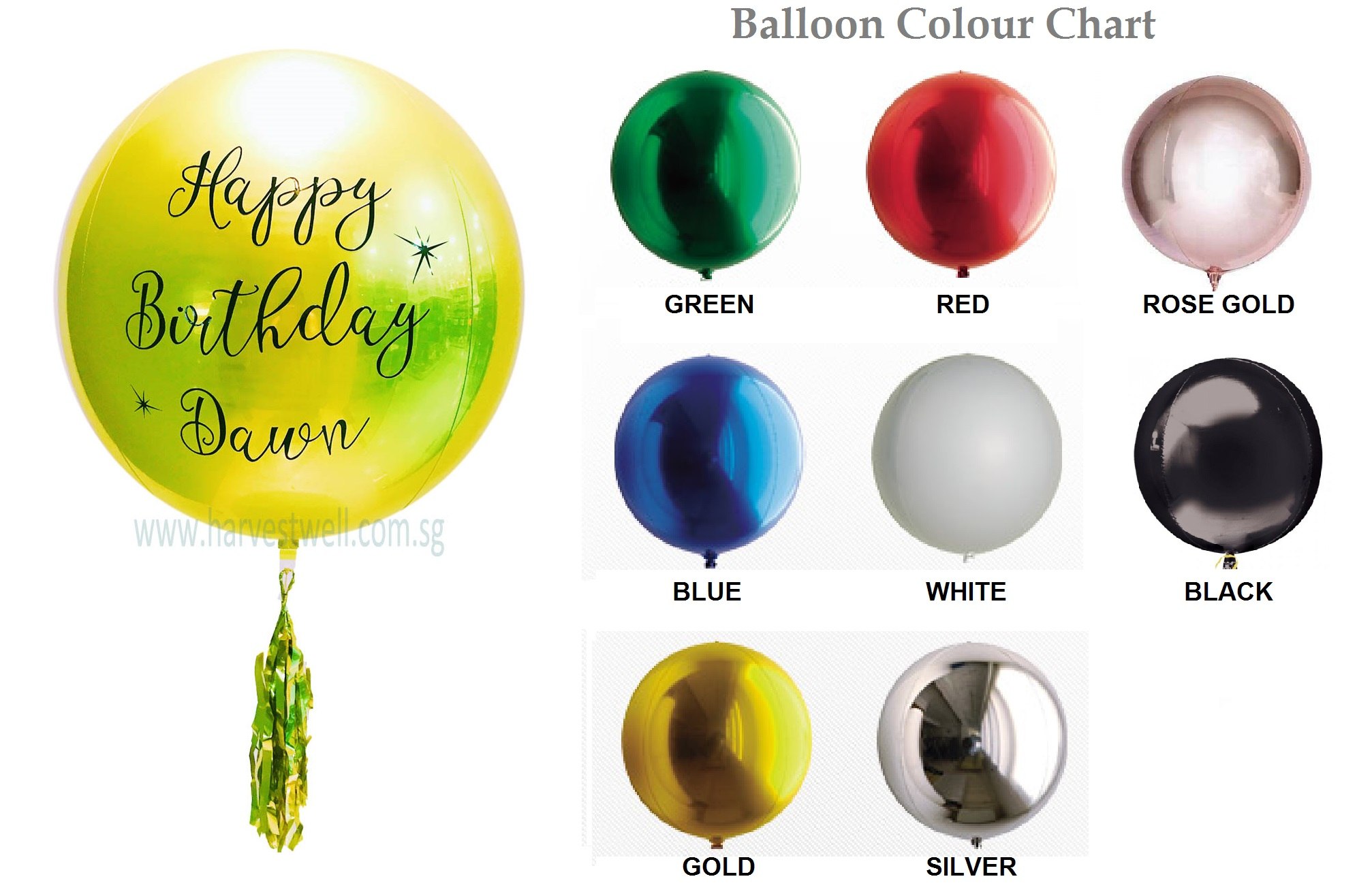 Customize Print on ORBZ Balloon
