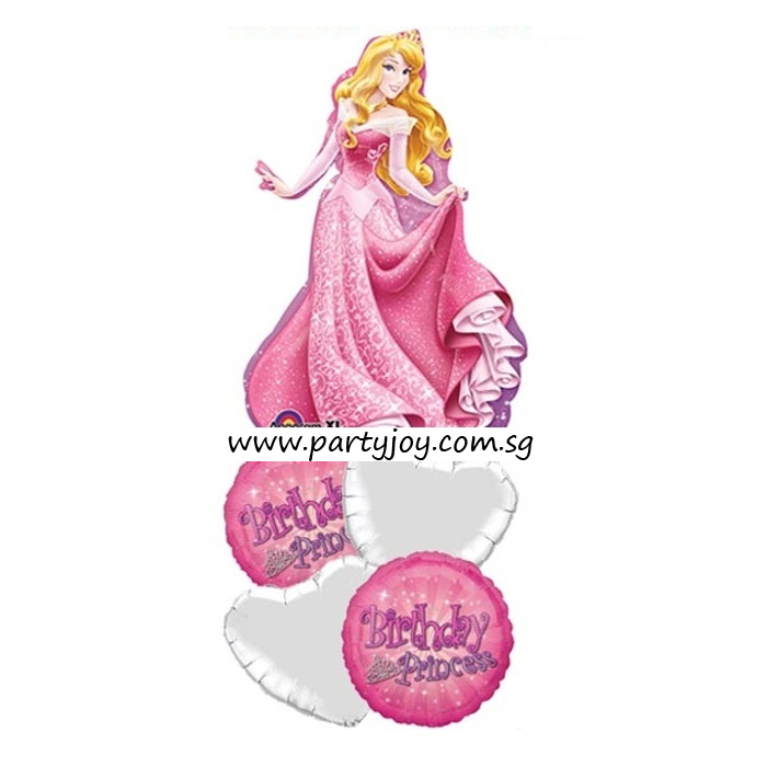 Disney Princess Sparkling Sleeping Beauty Balloon Package
