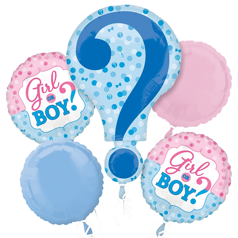 Girl or Boy? Balloon Package