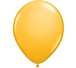 Golden Rod Helium Latex Balloon