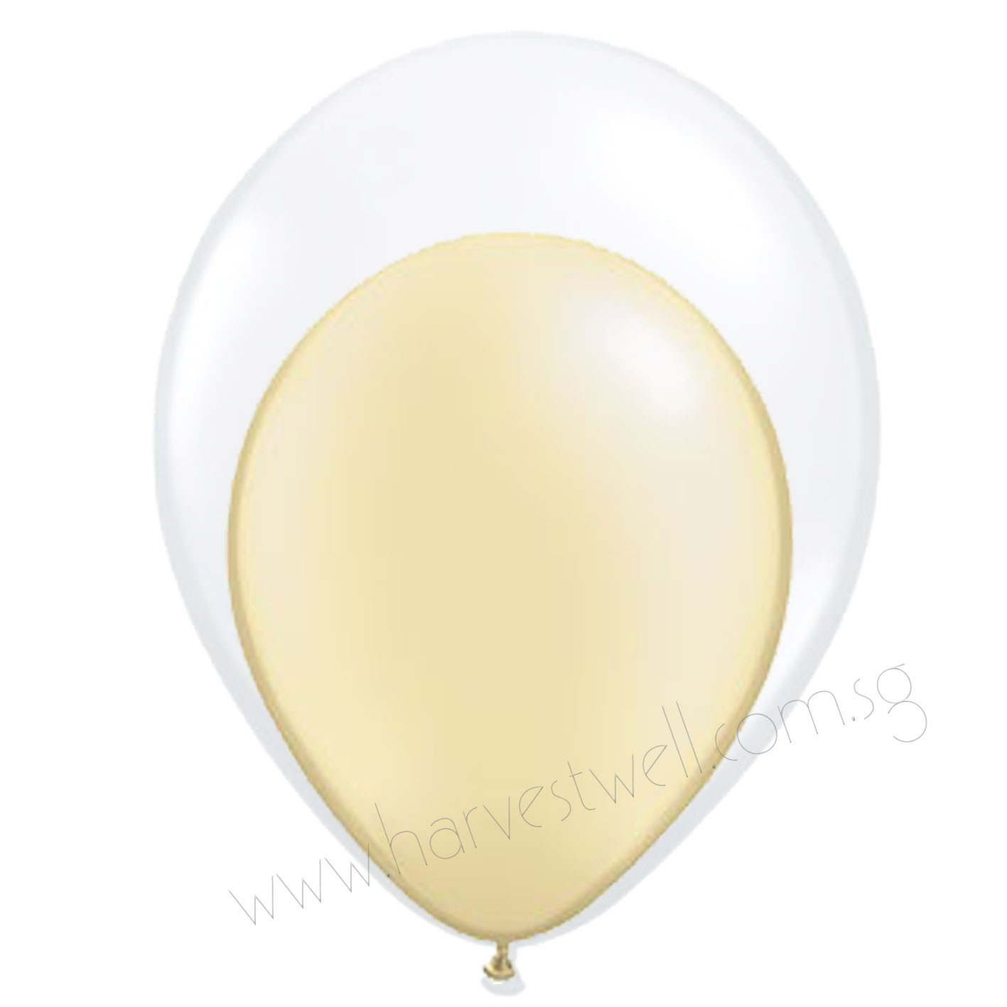 Ivory Balloon In Balloon