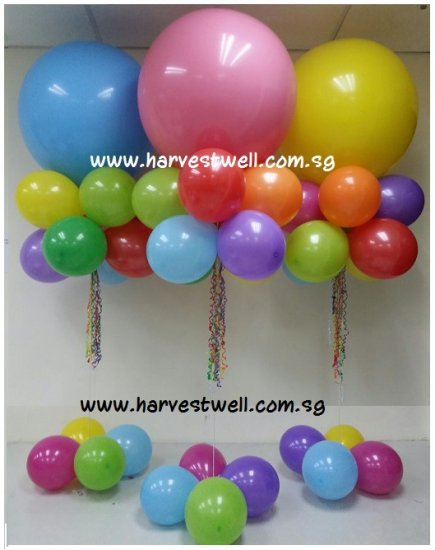 Jumbo Helium Latex Balloon Standly (Per Unit)