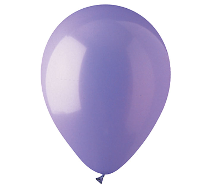 Lavender Helium Latex Balloon