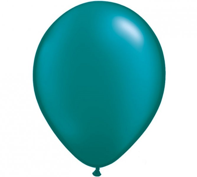Pearl Emerald Green Helium Latex Balloon