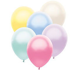 Pearl Gloss Assortment Helium Latex Balloon