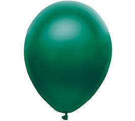 Pearl Green Helium Latex Balloon
