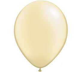 Pearl Ivory Helium Latex Balloon