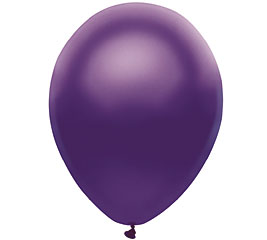 Pearl Purple Helium Latex Balloon