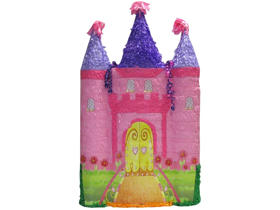 Pink Castle Pinata (Large)