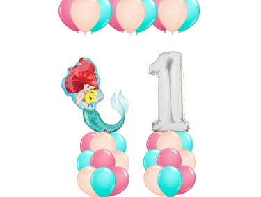 Princess Theme Balloon Value Package