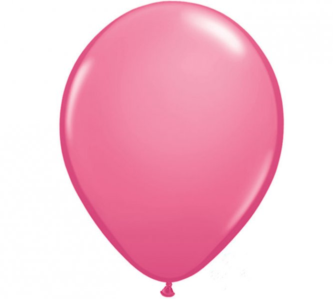 Rose Helium Latex Balloon