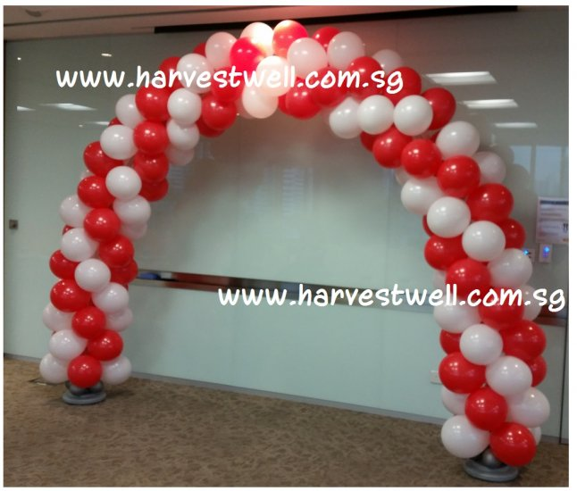 SG Celebration Spiral Balloon Arch