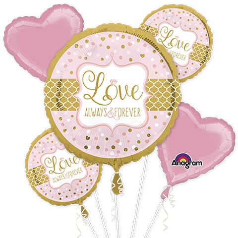 Sparkling Wedding Balloon Package
