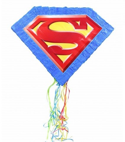 Superman Pull String Pinata