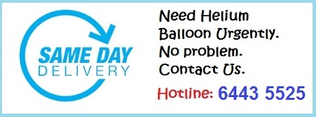 Same Day Balloon Delivery Service
