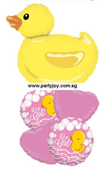 Ducky (it's a girl) Balloon Package