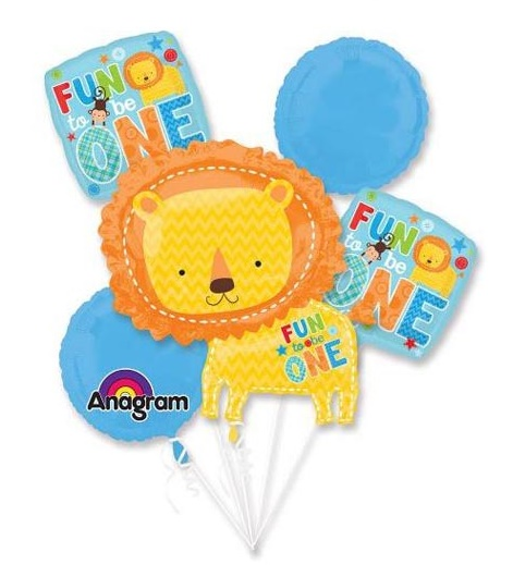1st Baby Boy Fun To Be One Balloon Package