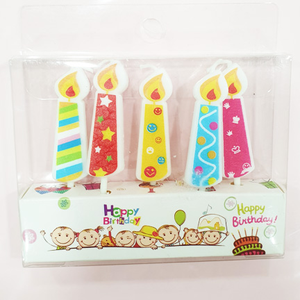 Cute Birthday Mini Candle Set