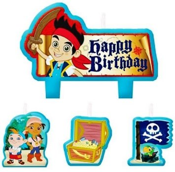 Jake and the Neverland Pirates Birthday Candle Set