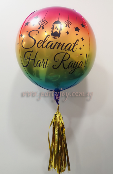 Hari Raya Customize ORBZ Balloon