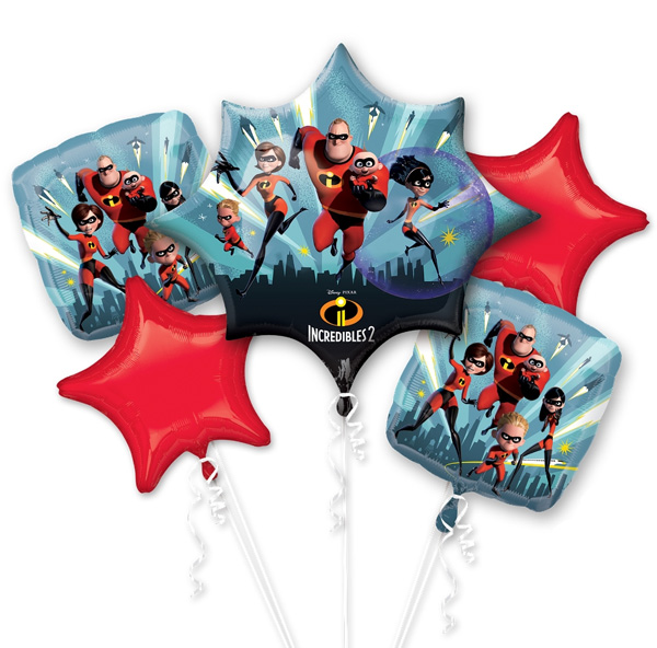 Incredibles 2 Balloon Package