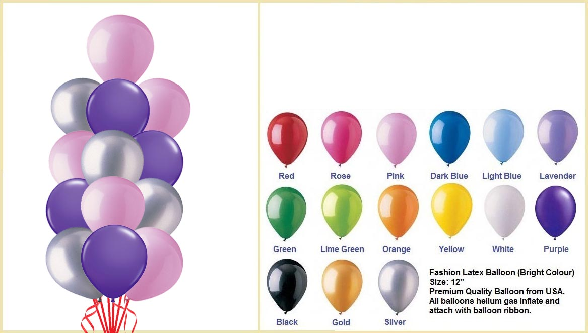 Helium Balloon Column